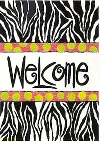 Wild Welcome Flag 28 x 40