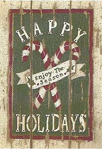 Candy Cane Greeting Flag 28 x 40