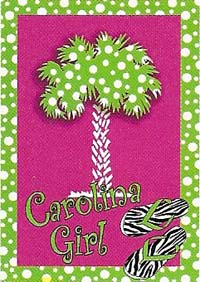 Carolina Girl Flag 28 x 40