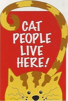Cat People Applique Flag 28 x 40