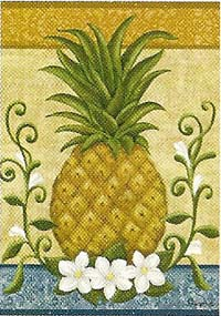 Colonial Pineapple Flag 28 x 40