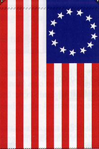 Betsy Ross Applique Flag 28x44