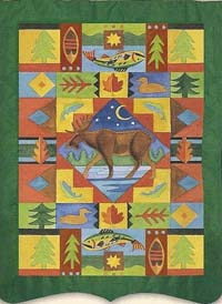 Moose Applique Flag 29 x 43