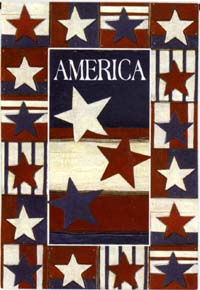 Land of Liberty Silk Reflections Flag 28x40
