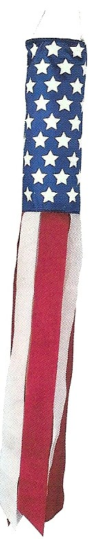 Mini Stars & Stripes Windsock 18