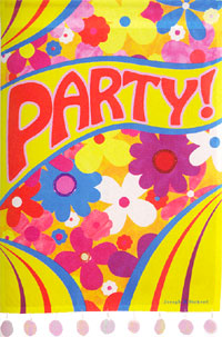 Groovy Party Impressions Flag 28x40