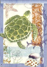 Sea Turtle Garden Flag 12.5 x 18