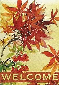 Japanese Maple Garden Flag 12.5 x 18