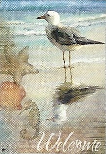 Shorebird Garden Flag 12.5 x 18
