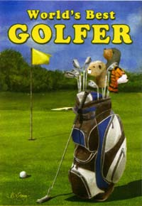 World's Best Golfer Garden Flag 12x18