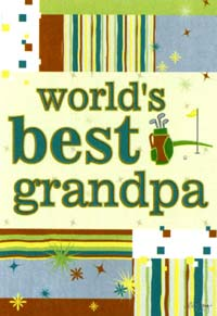 Worlds Best Grandpa Garden Flag 12x18