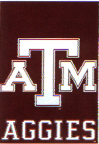 Texas A&M Flag 28x40