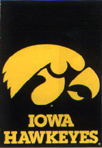 University of Iowa Flag 28x40