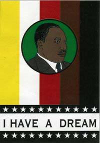Martin Luther King Flag 26x38