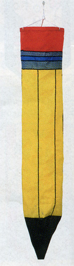 Pencil Windsock approx. 40 long