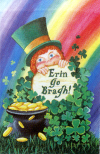 Erin Go Bragh St. Patricks Day Flag 28x40