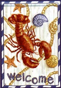 Red Lobster Flag 28x40