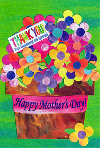 Happy Mother's Day Flag 28x40