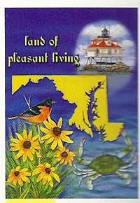 Land Of Pleasant Living Flag 28 x 40