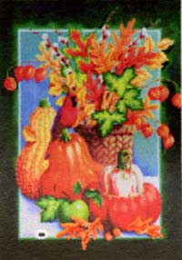 Autumn Still Life Flag 28x40