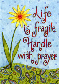 Handle With Prayer Flag 28x40