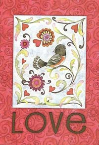 Love Bird Flag 28 x 40