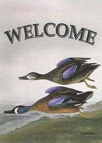 Blue Winged Teal Flag 28 x 40
