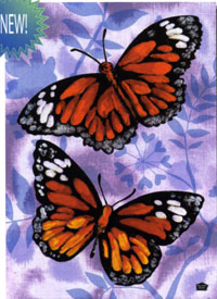 Flutter By Butterfly Flag 28x40