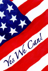 Yes We Can Flag 28x40